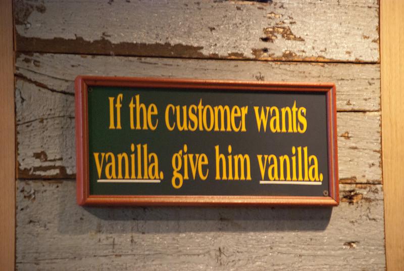 As seen in Bubba Gump Shrimp Co at CityWalk
