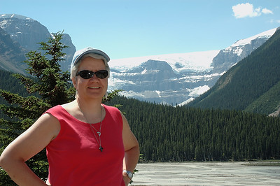 This was taken as we were approaching the Columbia Icefields.