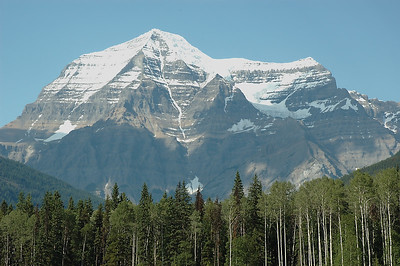 This is Mt. Robson, the highest point in Jasper. We camped at the provincial campground just across the road.