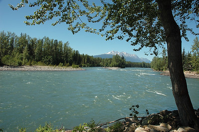 We stopped for a picnic at this lovely spot in Smithers.