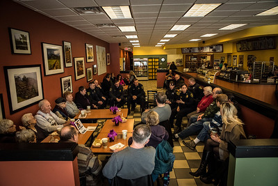 Coffee with a Cop - Feb 25, 2015 Big Apple Bagle