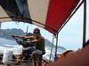 long tailin with attitude on the andaman coast