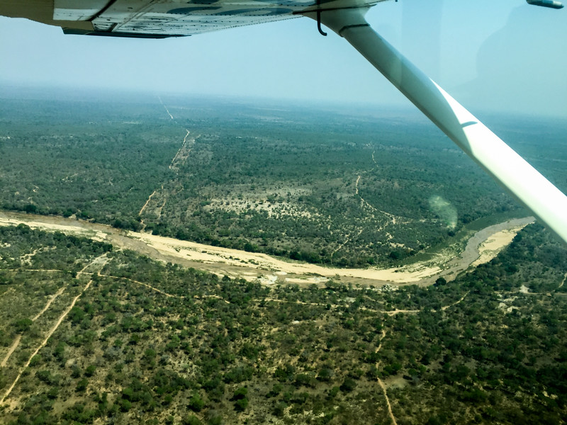 Sabisands river bed