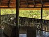This is where I spent much of my time at the lodge; occasionally, when I was the only guest, I even had dinner in the hide by candle light while watching porcupines and civets munch on vegetable matter in the spotlight (unfortunately not bright enough to allow pictures).