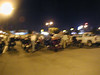 0200 in Mexicali.  That's a blurry me and George near our bikes.