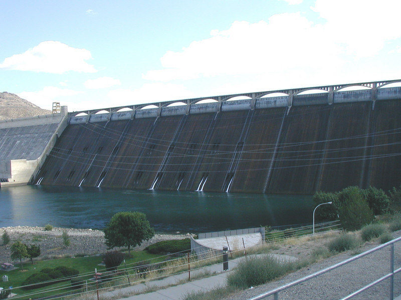 Grand Coulee Dam, Washington.