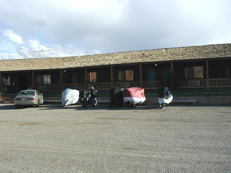 Rim Rock Inn; Torrey, UT.