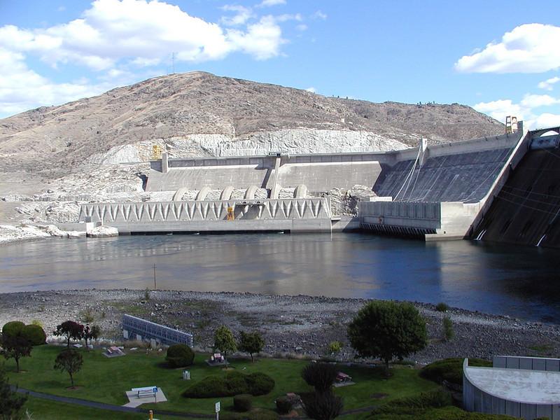 Grand Coulee Dam; Washington.