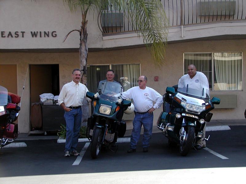 Mark C, Mark, Tom and George.  San Diego, CA