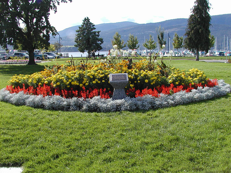 City park, Kelowna, BC