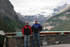 Me and Bob; Lake Louise, AB