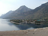 From the Prince of Wales Hotel looking towards the town of Waterton Lake.