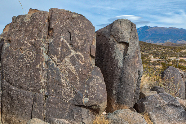 Three Rivers Petroglyph Site - Dec 1, 2017