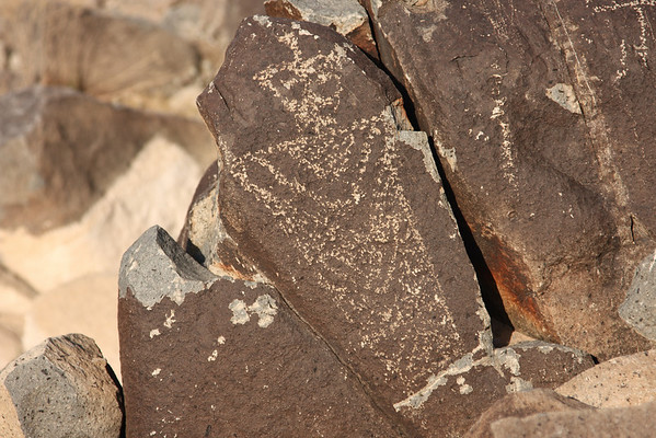 Three Rivers Petroglyph Site. May 2008