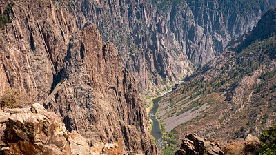 Black Canyon of the Gunnison National Park - Very Narrow Canyon
