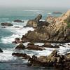 Rugged California coast...