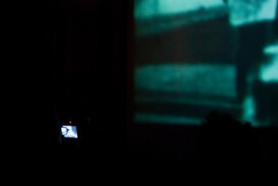 "Film > Digital > Analog (if reality is analog) > Digital. During Derek Jarman's ""In the Shadow of the Sun."""