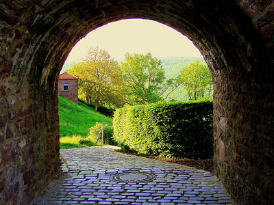 Diesburg, Germany - Through The Wall