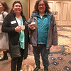 Pauline Sackaney ad Denise Lantz at Northern Regional Training