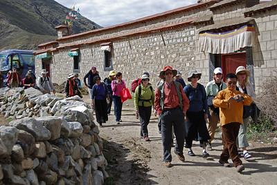 Day 07 - Zangri Meu Tsang (small monastery), then Yungdrungling Gompa.