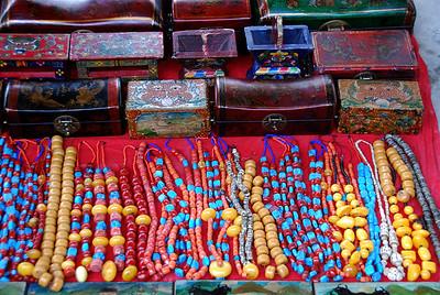 Day 09 - Shigatse market, Triten Norbutse Gompa (up the hill) and Serkhetramo Shentsang (in the flats)