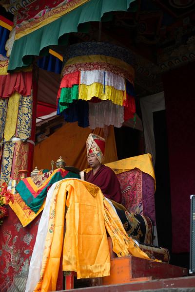 Cham at Lhagong Gompa