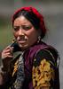 Tibetan nomad woman
