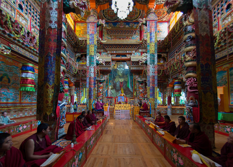 Monastery in Kangding