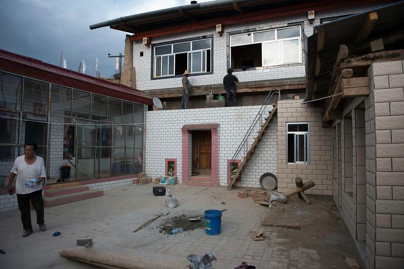 Gongpa Ta and his family home