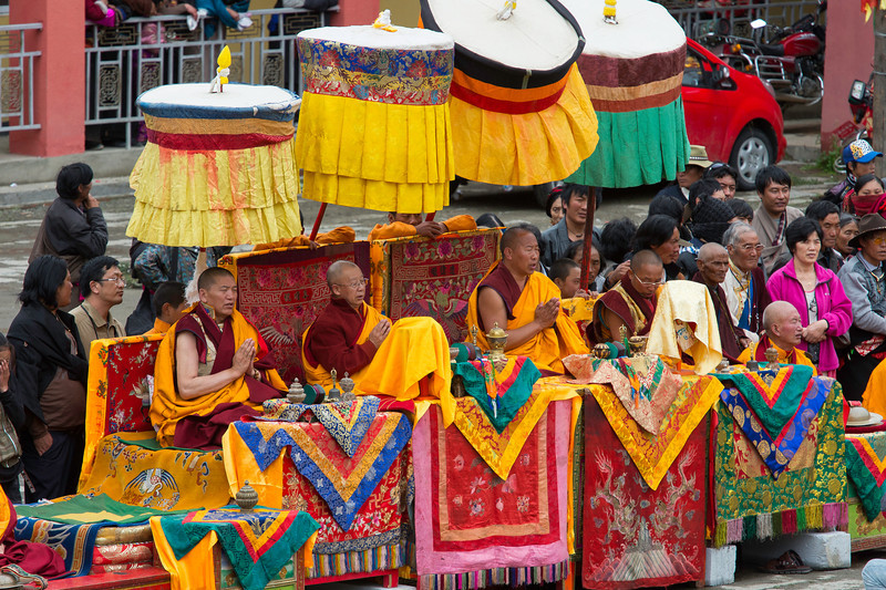 Monks leading the Cham