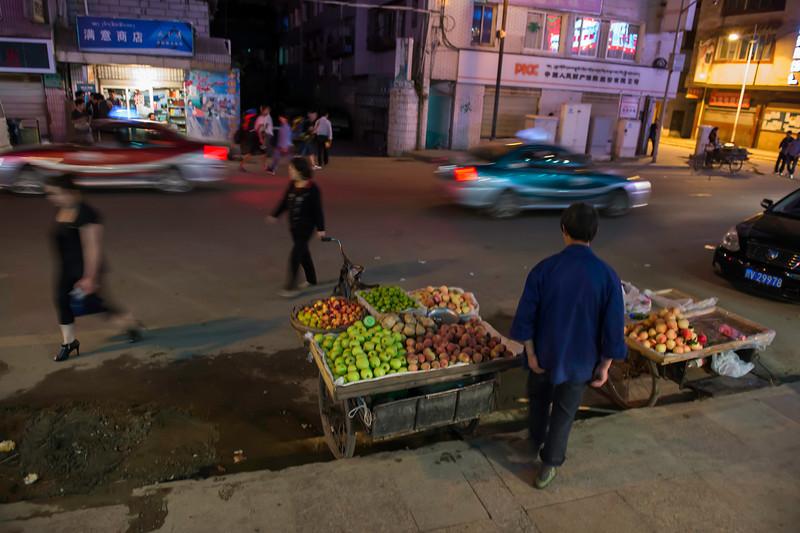 Kangding at night