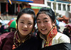 Going to see the cham or Tibetan Ritual dancing in Tagong