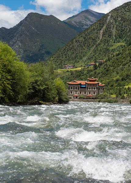Large Tibetan house
