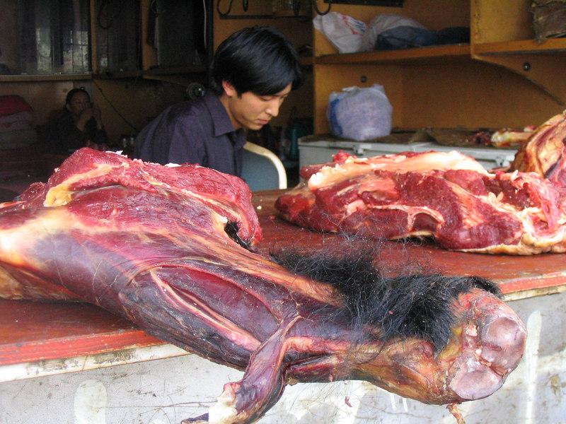 A little hairy yak meat.