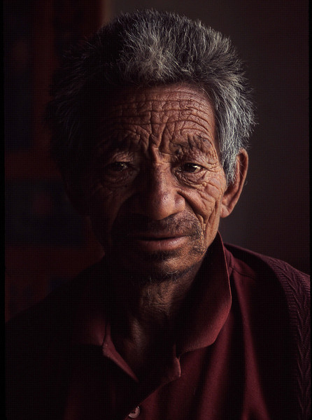 Khenpo Tsering's father