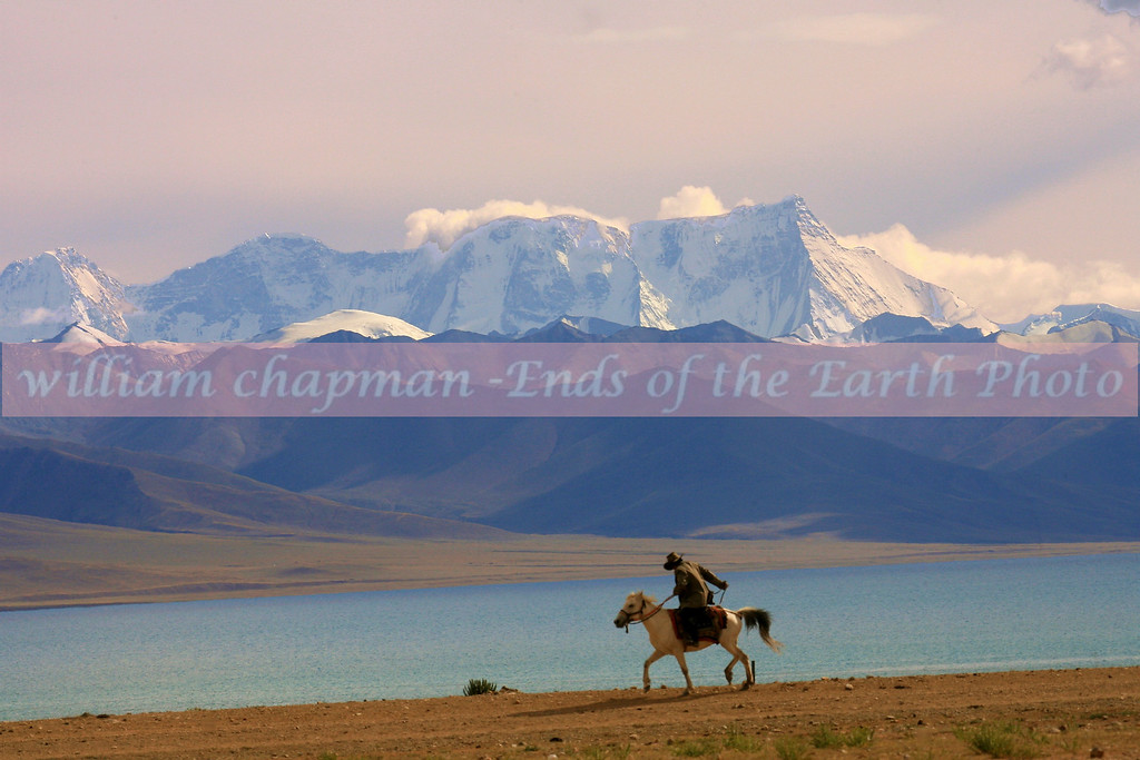 Namtso Lake rider head for home