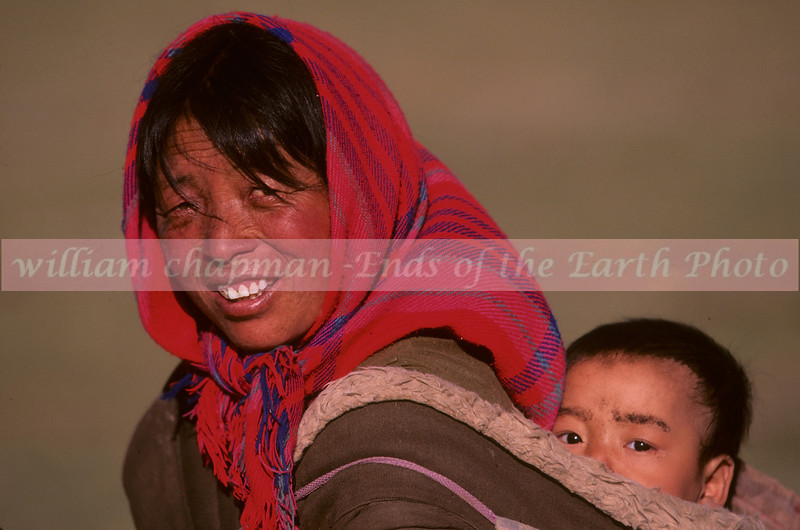 Mother and Child- eastern Tibet