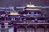 "The beautiful Tasilhunpo (""Heap of Glory"") Monastery in Shigatse, a town where we stayed overnight"