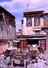 The Jokhang and Barkhor Bazaar : Beautiful Jokhang Monastery and the circumnambulatory plaza around it have been the most important gathering place for the Tibetan people for generations. Pilgrims arrive daily from all over Tibet.