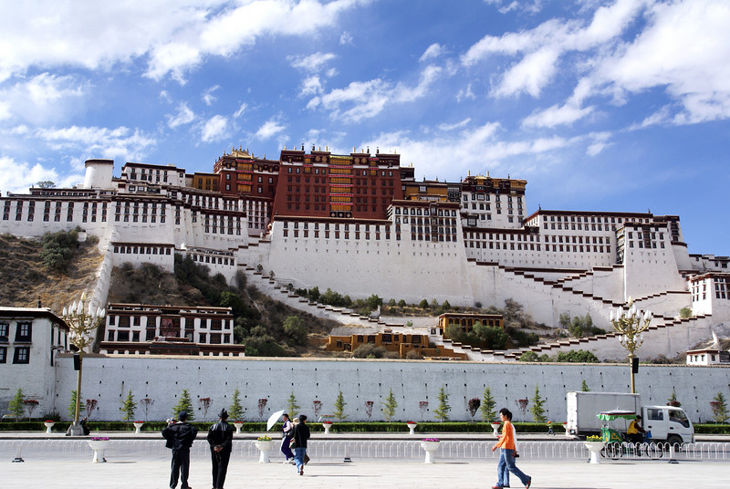 Potala Palace from park across the street.