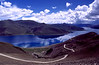 Beautiful Lake Yamdrok Tso (or Namdrok Tso), one of the highest lakes in the world.