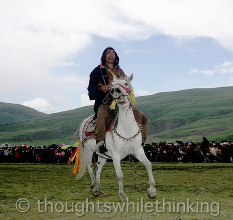 Tibet 2006 Litang Horse Festival Aug 1
