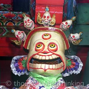 Tibet Kham 2006 Buddhist Masks