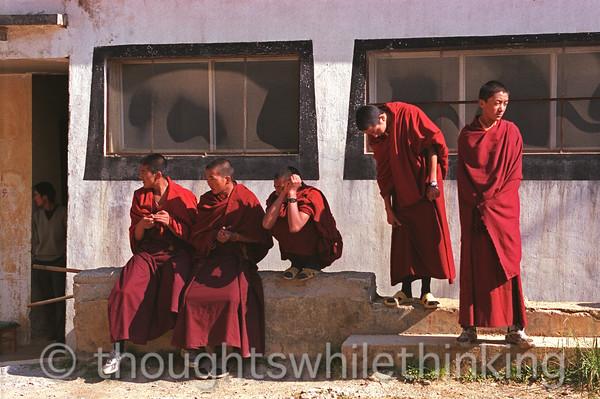 Tibet 2006 Zhongdian Ganden Sumsanling Monastery July 29