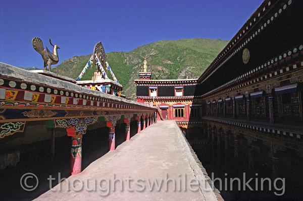 Tibet 2006 Derge Gongchen Monastery & Parkhang Aug 7