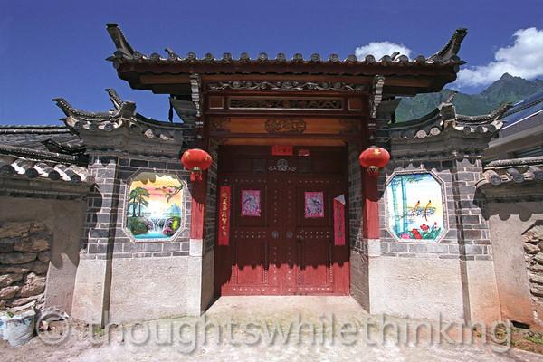 Tibet 2006 Yuhu near Lijiang July 27
