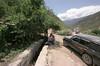 Tibet 2006 Litang to Markham road construction delay Aug 3