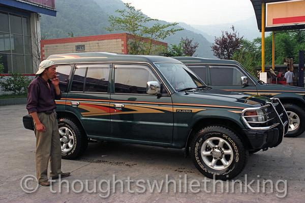 Tibet 2006 outside Kangding Aug 10