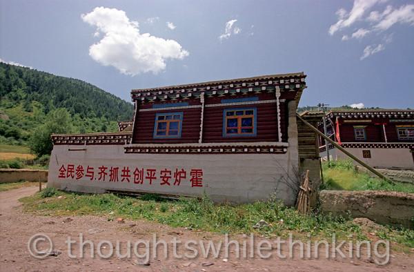 Tibet 2006 Ganze to Tagong Aug 9