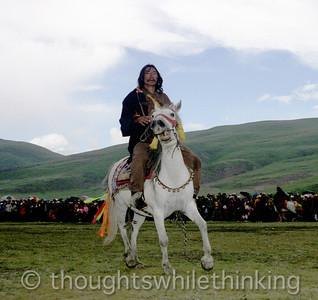 Tibet Kham 2006 Litang Horse Festiival Aug 1